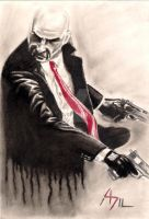 Agent 47 by kill312