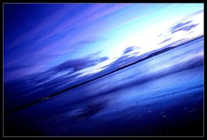 Blue dusk by Allegoria-Images
