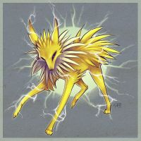 Jolteon by f0xyme