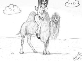 Camel Ride by jacquelynfisher
