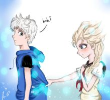 Jack and Elsa. by LeiMoustache