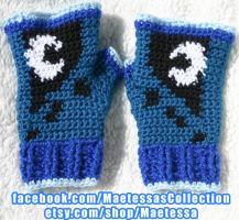 Princess Luna Mitts - variation 2 by Maetessa