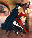 Seras and Alucard: The dance by LadyShiva