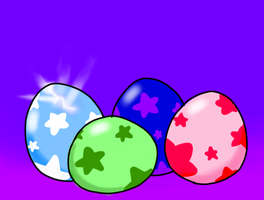 Puffball eggs by Karrotcakes