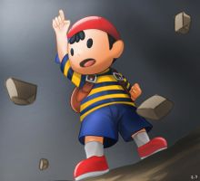 COMMISSION: Ness by mark331