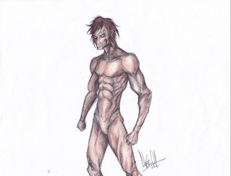 Eren - titan form by N3thruH