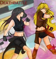 Yang vs Tifa by Legacyhunter