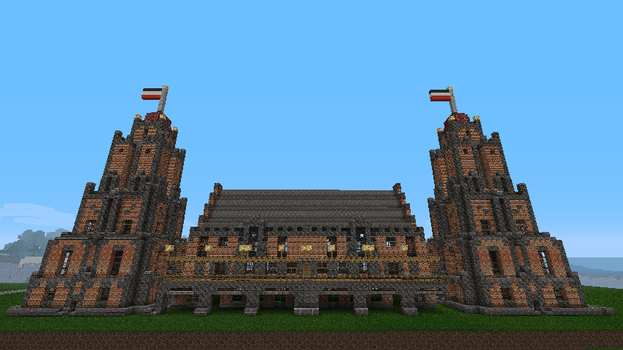 Small town-hall by Arminius1871