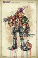 TMNT: Bebop Saucy by RobDuenas