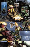 Justice league 80 page 01 by moritat