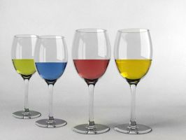 Wine Glass Edited by signora3d