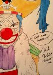 Buggy the Clown Signed by Mike McFarland by HaleyKlineArt