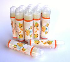 Orange Sherbet Lip Balm by The-Cute-Storm