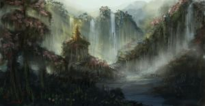 Chinese Forest Speedie by cheery-macaroon