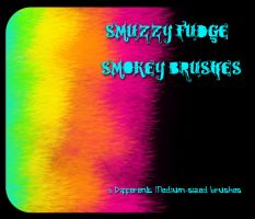 Smuzzy Fudge Photoshop Brushes by purplesockprincess