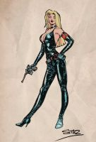 Nazi villainess by StazJohnson