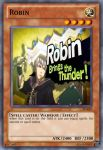 Robin card by raventhewarrior