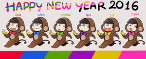 OSMT : Happy new year 2016 by Kanomatsu