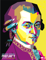 WA. Mozart POP ART by ndop