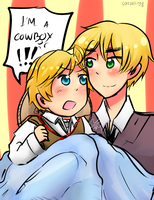 I'm a cowboy and you know it [prize] by Satsuki98