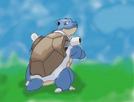 Blastoise by Shorkio