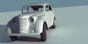 Moskvich 400 by DerZwilling