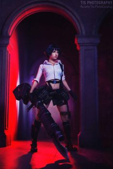 My name is Lady - Devil May Cry 3 cosplay by Narga-Lifestream