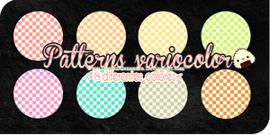 Patterns Variocolor ~ by Utsutsu-chi