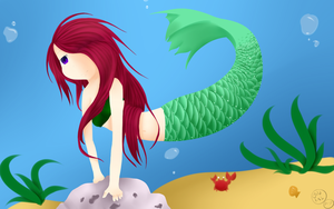 Mermaid by Goldfish-24-7