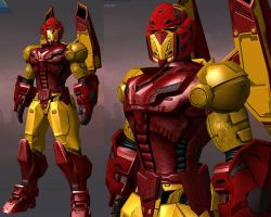 CoH: Iron Man - House of M by OrionSTARB0Y