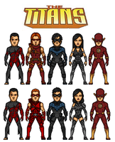 The Titans by dudebrah