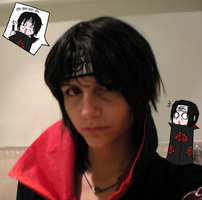 Itachi cosplay by jessicacicca