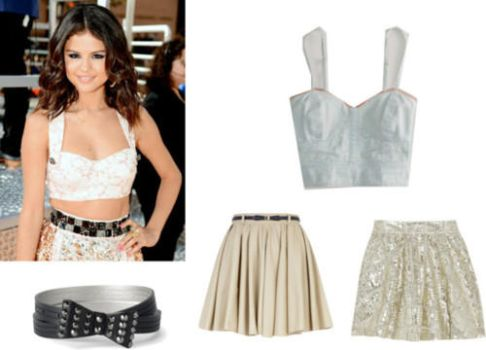 Selena Gomez Inspired Outfit by Linkedsoul
