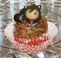 Wolfe Cupcake by LaPetitLapearl