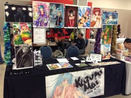 KazumiMai Artist Alley Table at Animate Miami!!! by icetree13