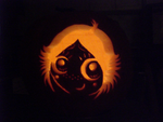 Ruby Gloom Pumpkin: Result by GeoffNET