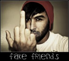 Fuck Fake Friends by sagrteam