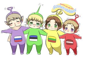 sovietubbies by Kyuutchi