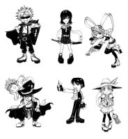 Outlaw Players SD set by shonensan