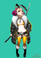blade and soul by xuanqin