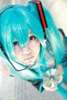 Vocaloid - Miku by Xeno-Photography