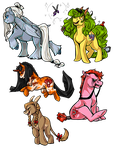 MLP: Unique Adoptables -- SOLD by arafel