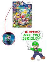 Luigi doesn't like MP9 cover by WildGirl91