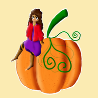 Chica Calabaza by lorenis176