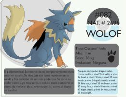 Pokemon Oryu 082 Wolof by shinyscyther