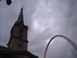 The Church and the Arch by Missel21