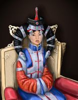 Borte, empress of the Mongols by nienor