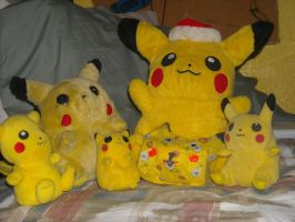 Pikachu collectio by cartoonboyplz