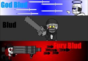 The Three forms of Blud by HankJWimblton