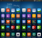 Widget TimeDateWeather by vicing